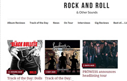 Rock and Roll & Other Sounds feature Landing on the Sun